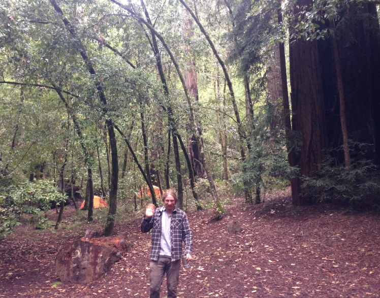 Justin in Big Basin